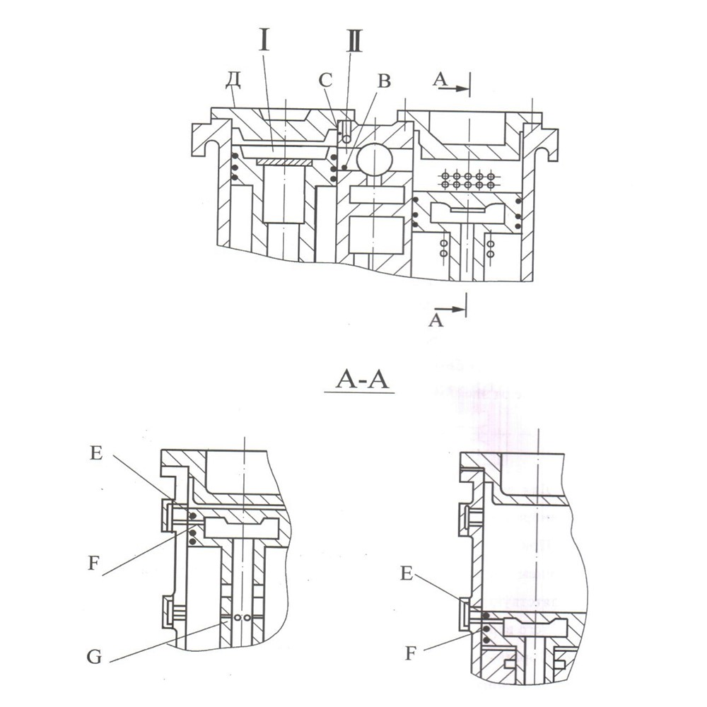 Буферное устройство и воздухопополнение
