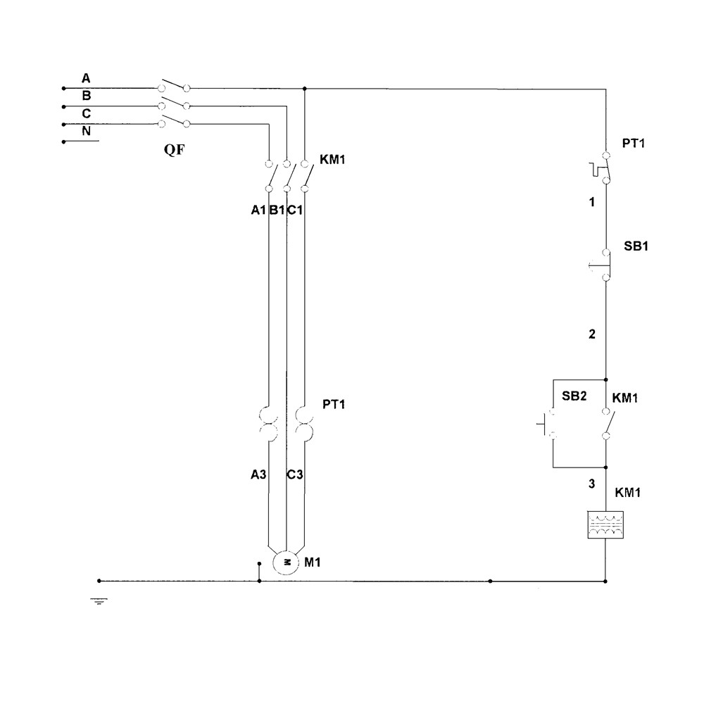 Электросхема молота МА4129