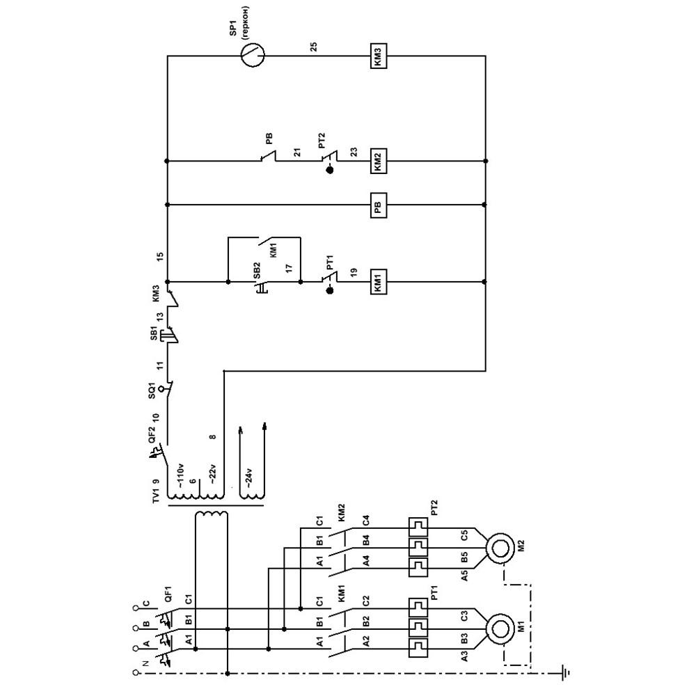 Схема электрическая принципиальная МА4129