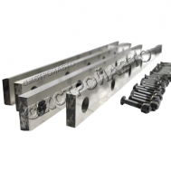 Ножи для гильотины по металлу НГ13Г (комплект 4 шт.)