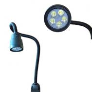 Светильник станочный светодиодный черный