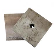 Комплект ножей для рубки арматуры 90х90х20 мм, М20 (GQ-50)
