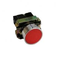 Кнопка управления с фиксацией 10А, 400V, красная