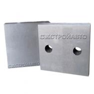 Комплект ножей для рубки арматуры 83х83х26 мм, 2 отв (GQ-40)