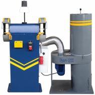 Станок точильно-шлифовальный ТШ-2РБ-П с блокировкой и пылесосом