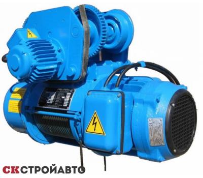 Тельфер электрический г/п-10т, в/п-12м