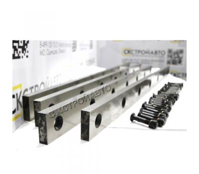 Ножи для гильотины по металлу Н478, Н478.01 (комплект 8 шт.)
