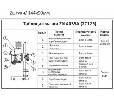 Станок настольно-сверлильный ZN4035