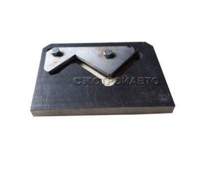 Нож плиты для резки уголка (в сборе) для пресс-ножниц НГ5222