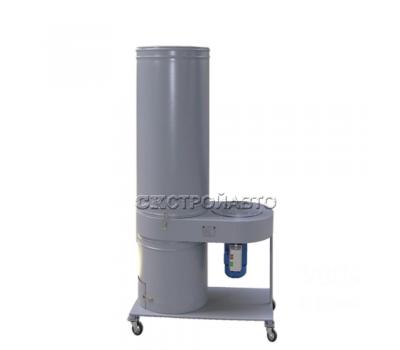 Установка вентиляционная пылеулавливающая УВП-1200АК (с 4 колесными опорами)