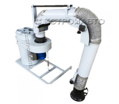 Пылеулавливающий агрегат УВП-2000А с ПВУ