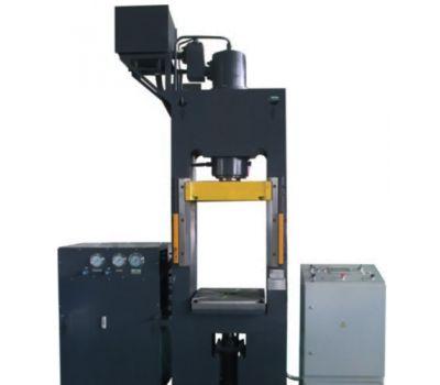 Пресс гидравлический для пластмасс ДЕ2434