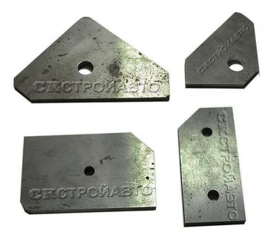Нож для пресс-ножниц НГ5222 уголок