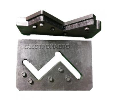 Нож плиты для резки уголка (в сборе) для пресс-ножниц НГ5223