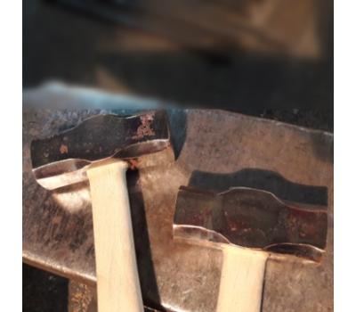 Молоток медный кованый
