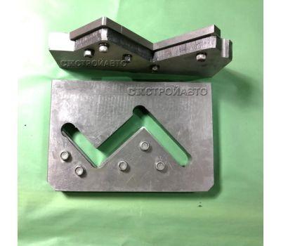 Нож-плиты для резки уголка в сборе Н5222А, НВ5221, НГ5221