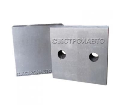 Комплект ножей для рубки арматур 90x90x26 мм, М16 (GQ-50)